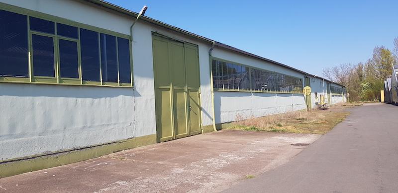 Lager und Produktionshallen im Erfurter Norden